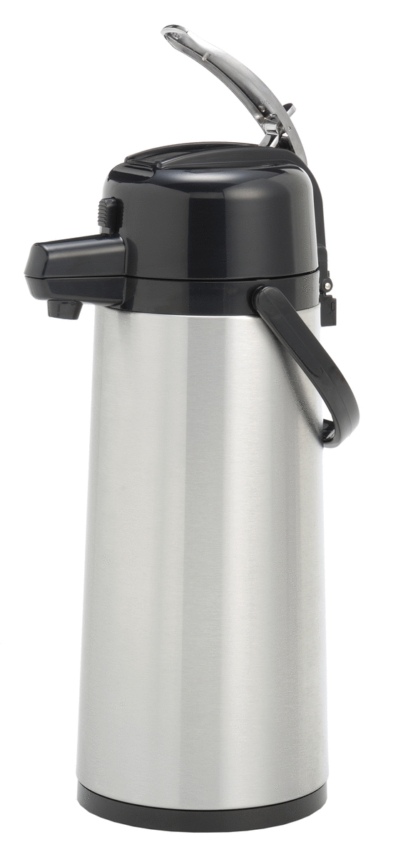 Bouteille isotherme à pompe pour machine à café mt100 gris 2,10 l Animo