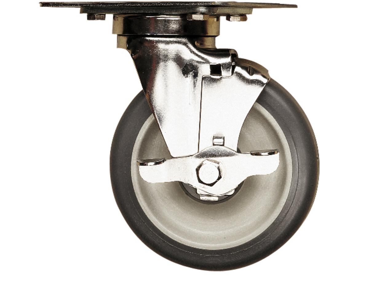 Kit roulettes pour conteneur isotherme upc400 acier Ø 12,70 cm Cambro