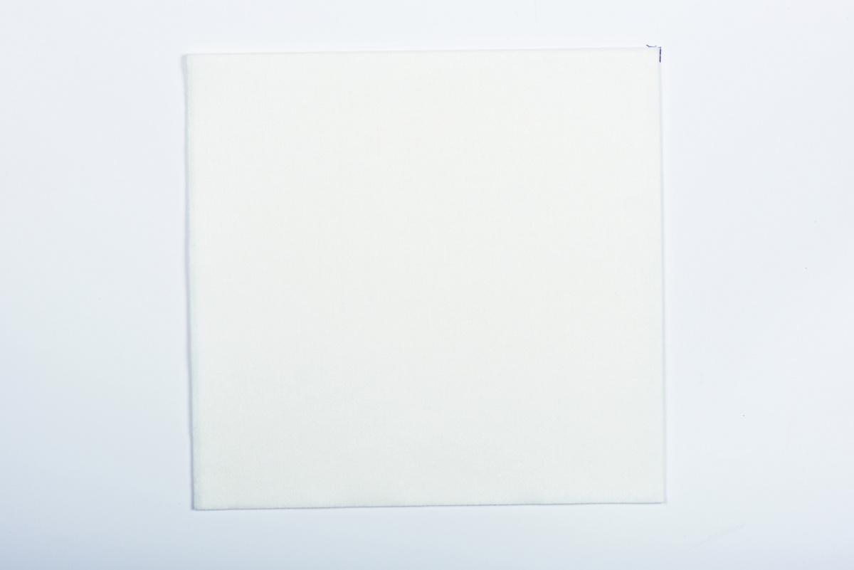 Serviette blanche spunlaid 40x40 cm Spunlace Cgmp (50 pièces)