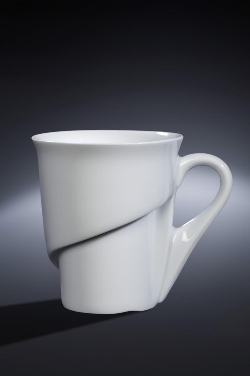 Tasse à café lungo ronde blanc porcelaine 20 cl Ø 8,80 cm Delissea Rak