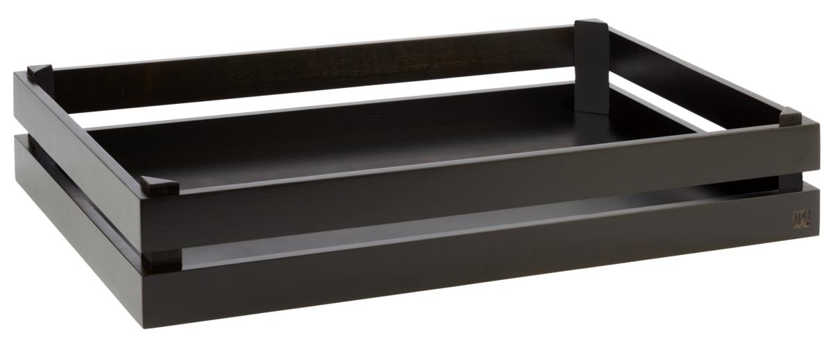 Caisse gn 1/2 rectangulaire brune bois 55,50 cm Superbox Aps