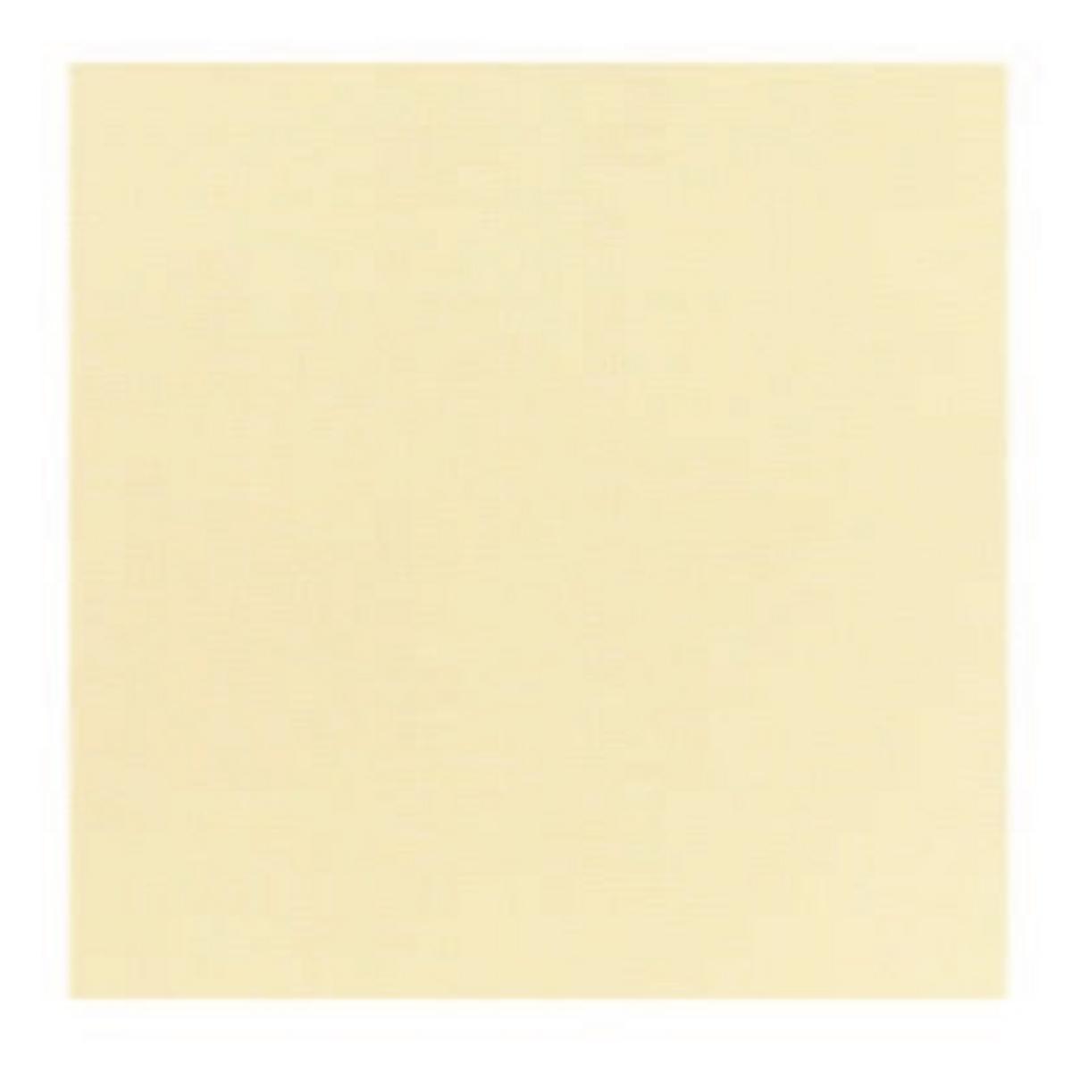 Serviette ivoire non tissé 40x39 cm Basik Soft Guest Of (50 pièces)