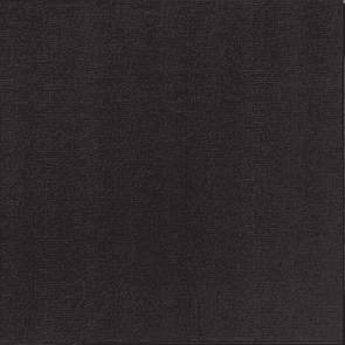 Serviette noire non tissé 40x39 cm Basik Soft Guest Of (50 pièces)
