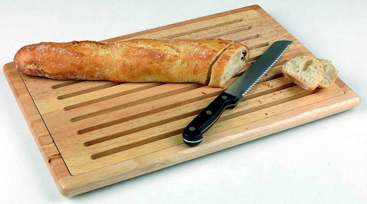 Planche à pain bois 32x47 cm Sans rigole Non réversible Aps