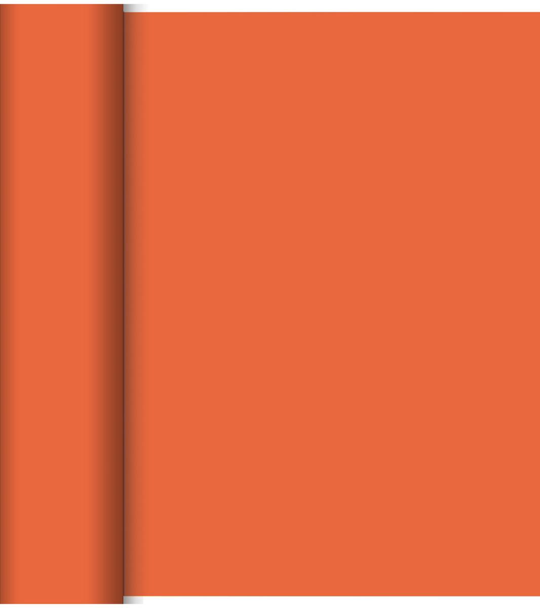 Rouleau tête à tête mandarine non tissé 24x0,40 m Dunicel Duni