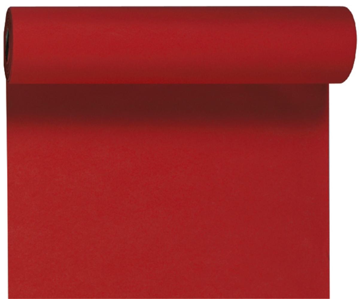 Rouleau tête à tête rouge non tissé 24x0,40 m Dunicel Duni