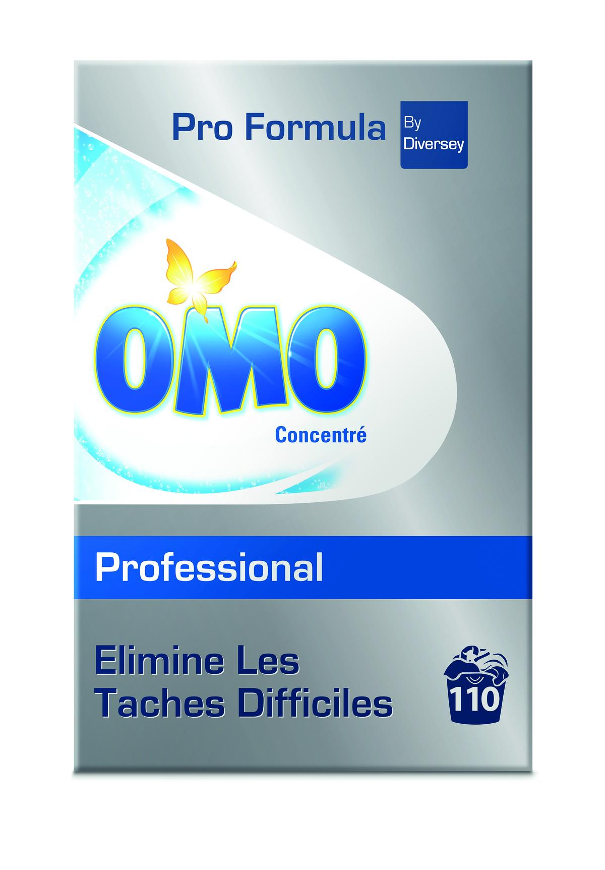 Lessive poudre 110 doses Omo