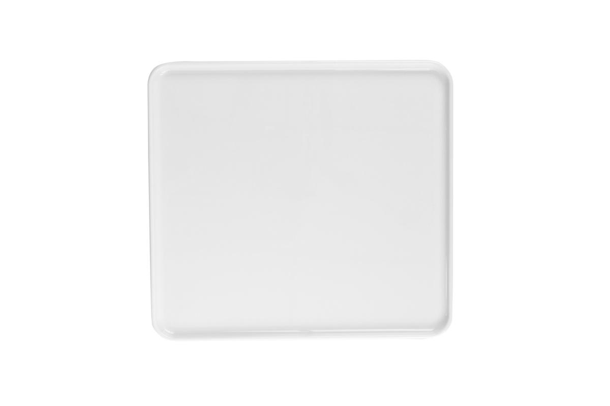 Plateau gn 2/3 rectangulaire blanc porcelaine 35,40 cm Evento Degrenne