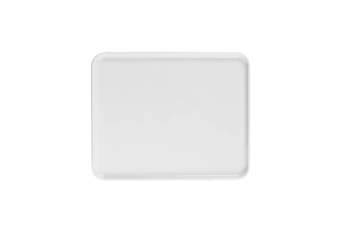 Plateau gn 1/2 rectangulaire blanc porcelaine 32,50 cm Evento Degrenne