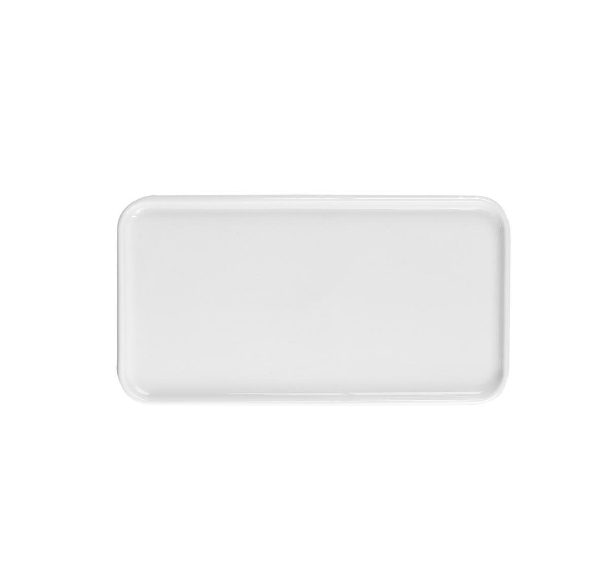 Plateau gn 1/3 rectangulaire blanc porcelaine 32,50 cm Evento Degrenne