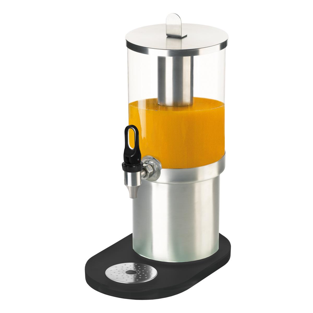 Distributeur à jus rectangulaire gris inox 4 l 20 cm Evento Degrenne