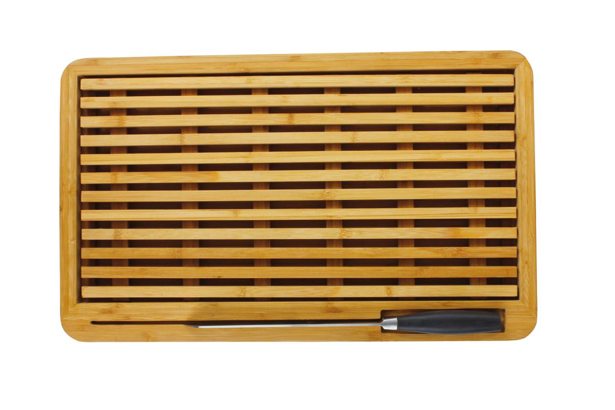 Planche à pain bois bambou 32,50x53 cm gn 1/1 Sans rigole Non réversible Evento Degrenne