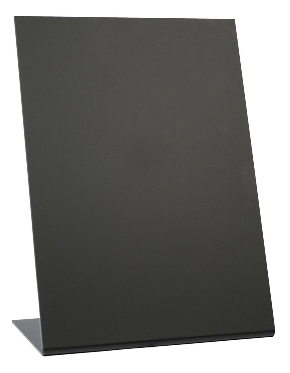Ardoise de table rectangulaire noire 15 cm Securit (3 pièces)