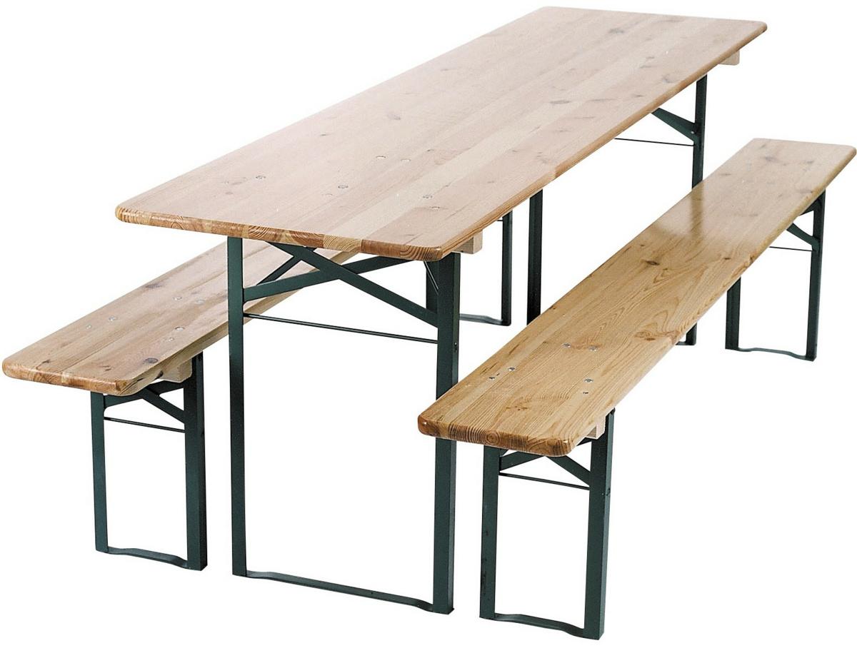 Table beige 80x220 cm Munich