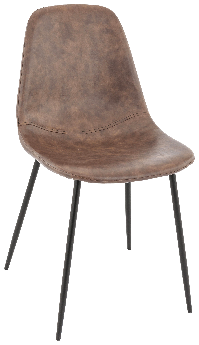 Chaise marron 43 cm Emma