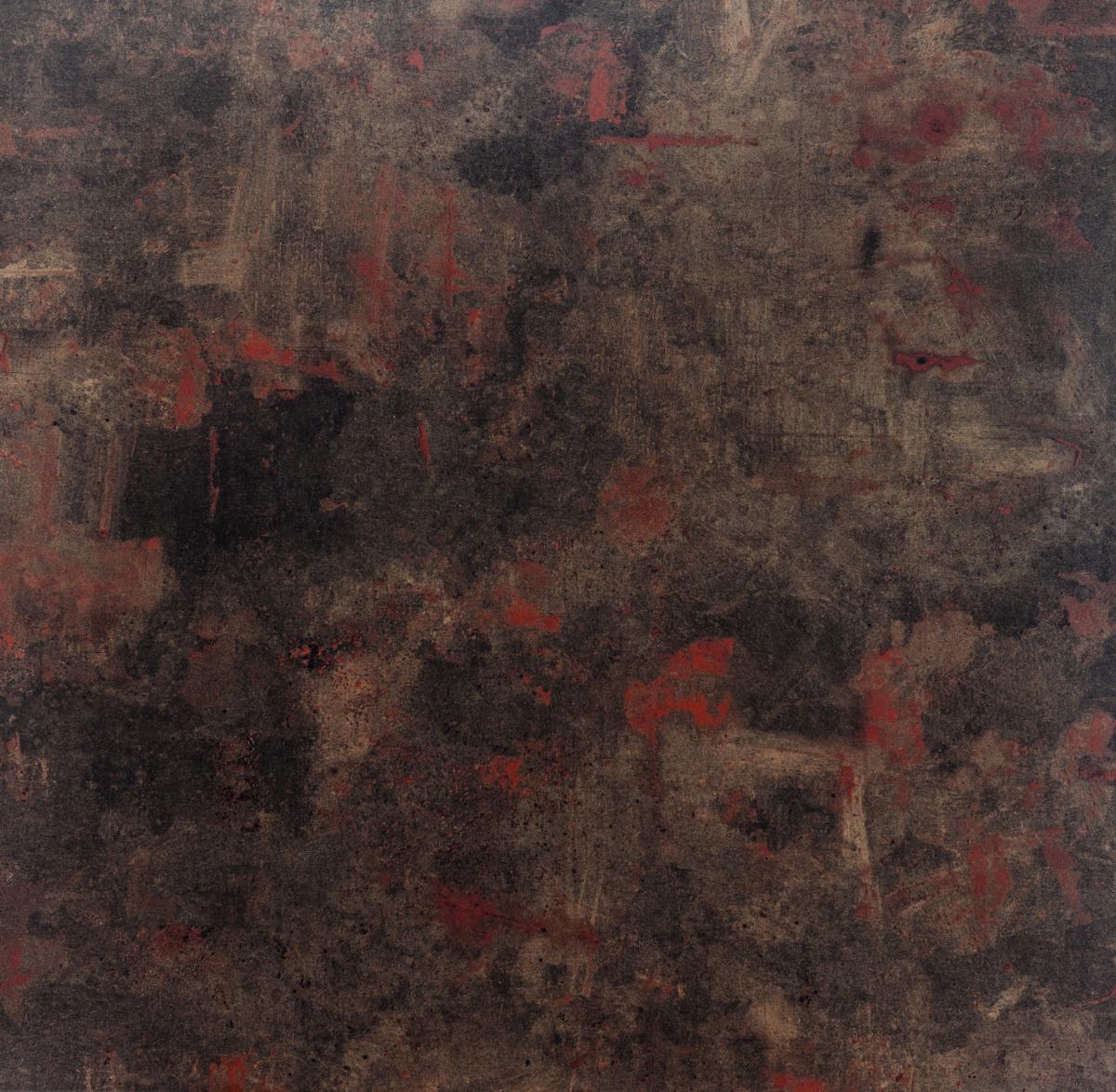 Plateau de table metal oxid 70x70 cm Moule