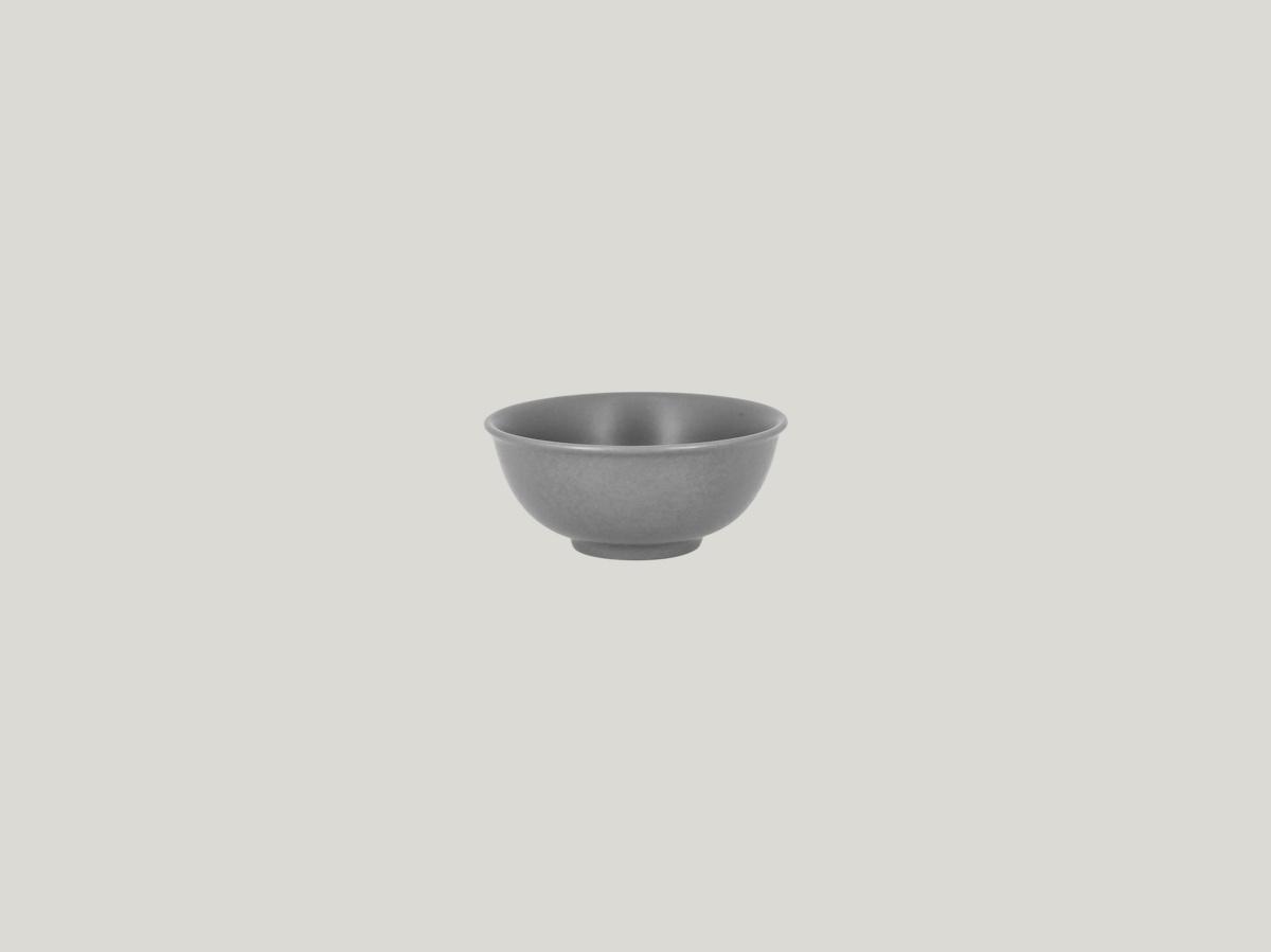 Bol à riz gris porcelaine rond Shale Rak
