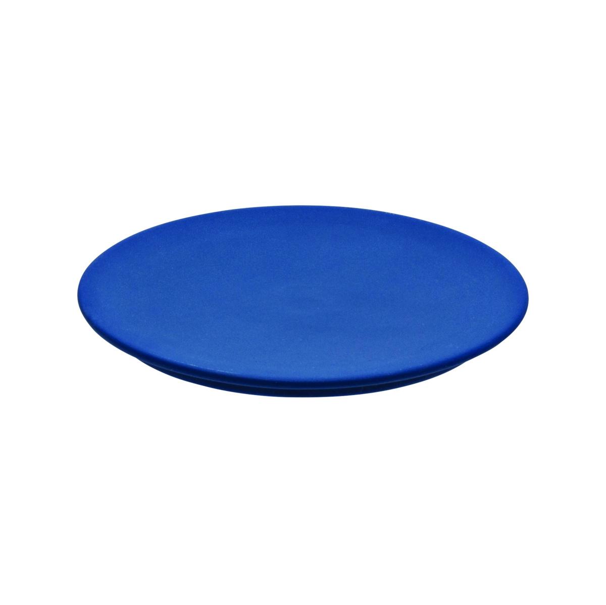 Couvercle rond bleu grès Ø 12,50 cm Gourmet Degrenne