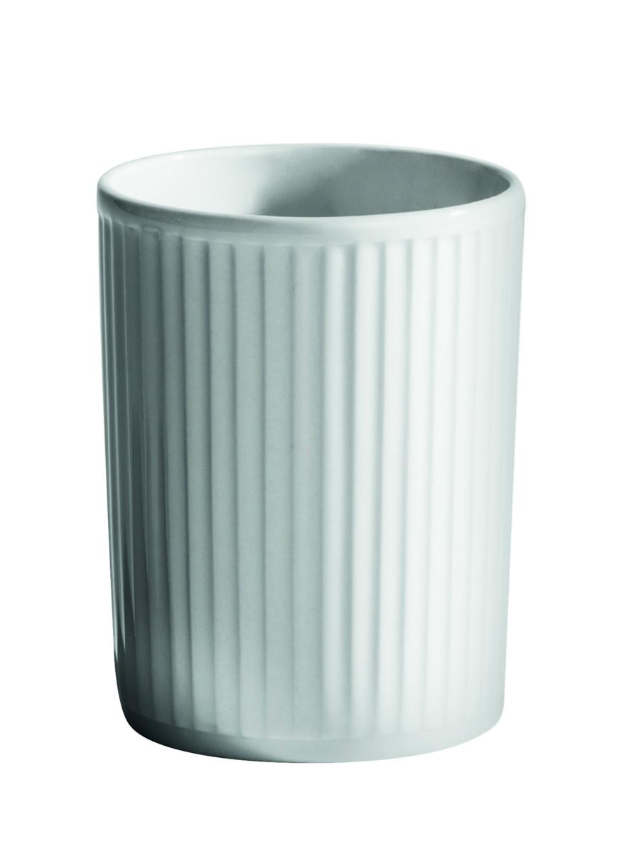Gobelet rond blanc 20 cl Plisse Pillivuyt