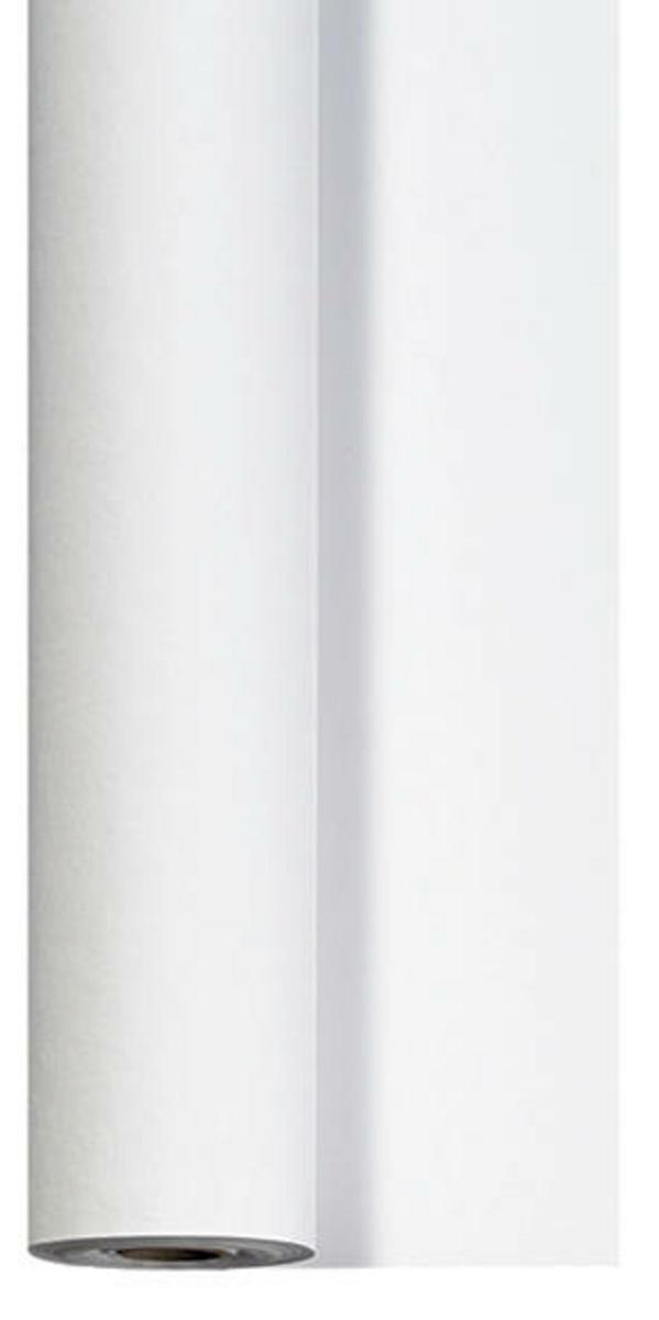 Rouleau de nappe blanc non tissé 1,18x25 m Dunicel Duni