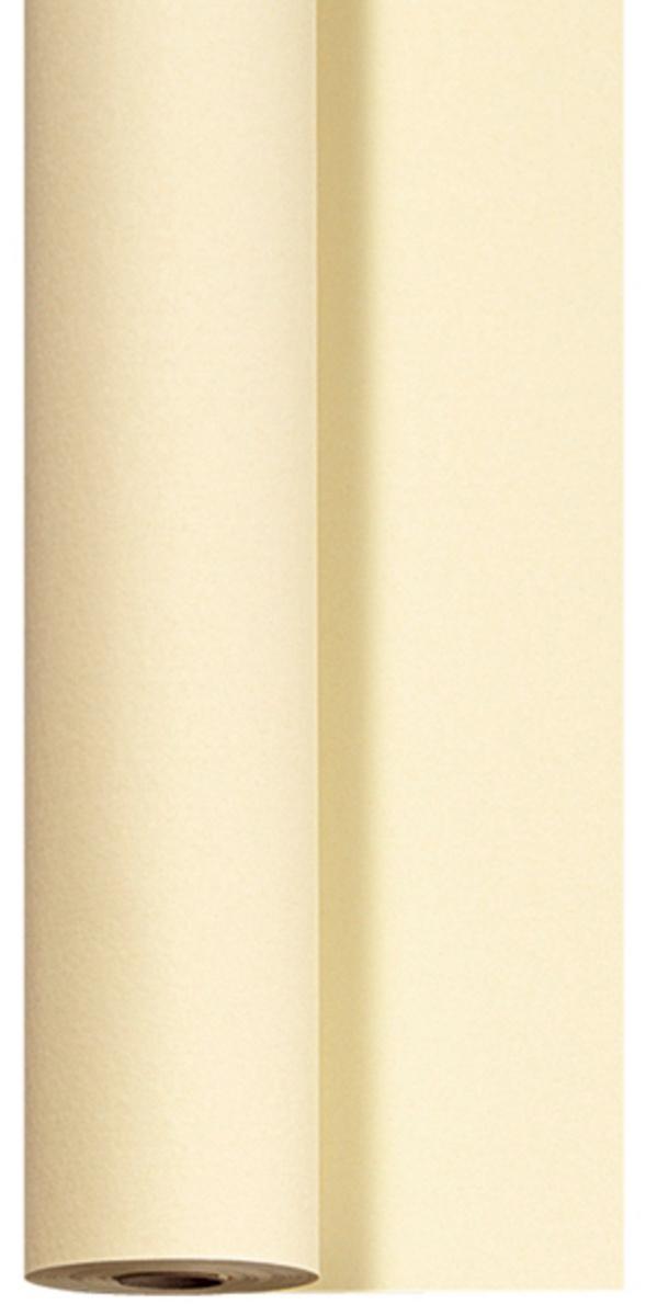 Rouleau de nappe crème non tissé 1,18x25 m Dunicel Duni