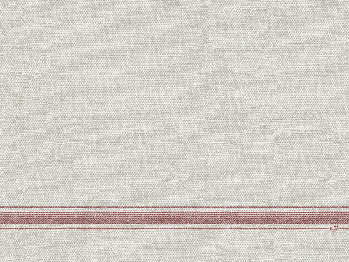 Set de table bordeaux non tissé 40x30 cm Cocina Duni (100 pièces)