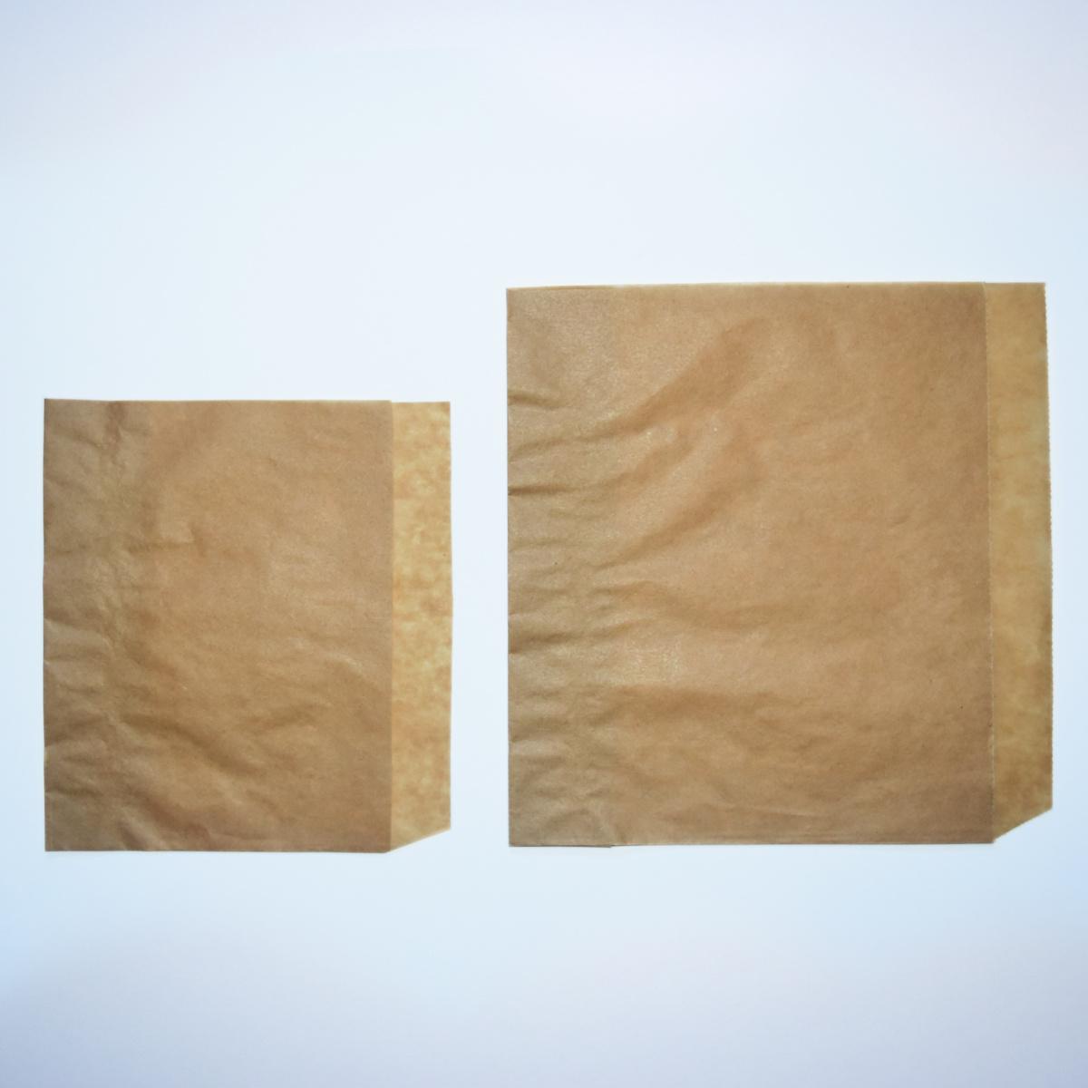 Pochette carrée brune 140 mm (2000 pièces)