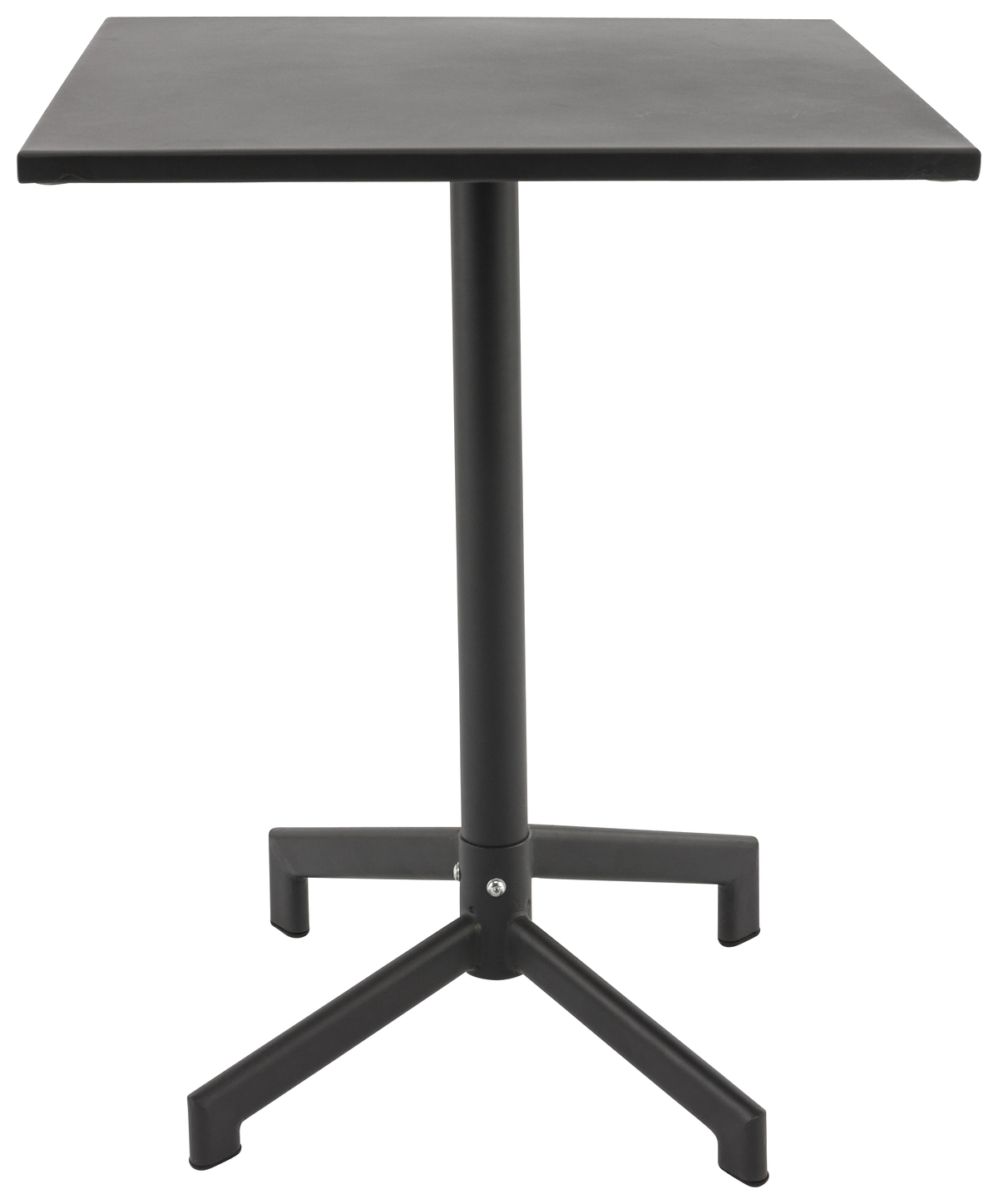 Table gris anthracite 60x60 cm Pigalle