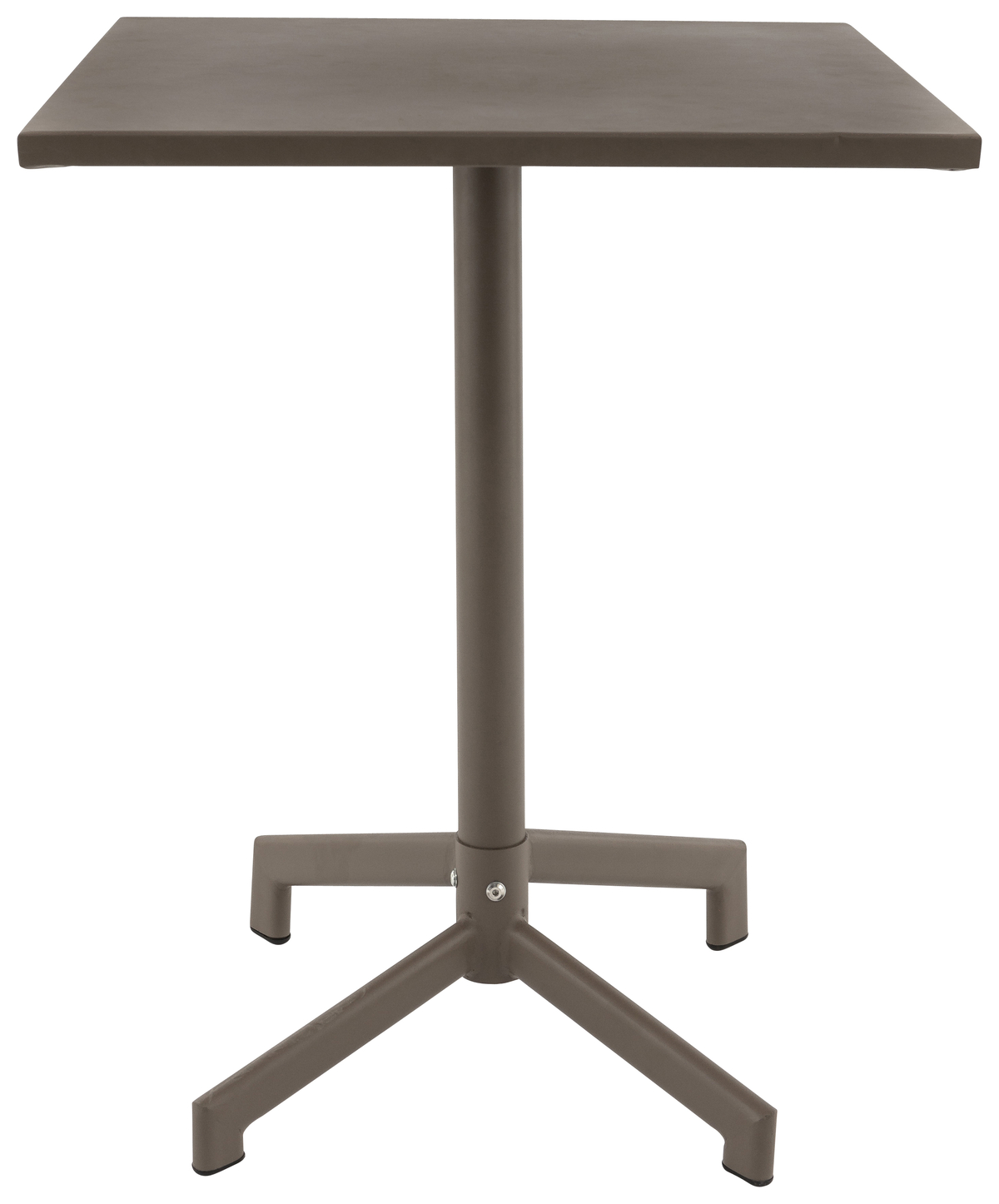 Table taupe 60x60 cm Pigalle