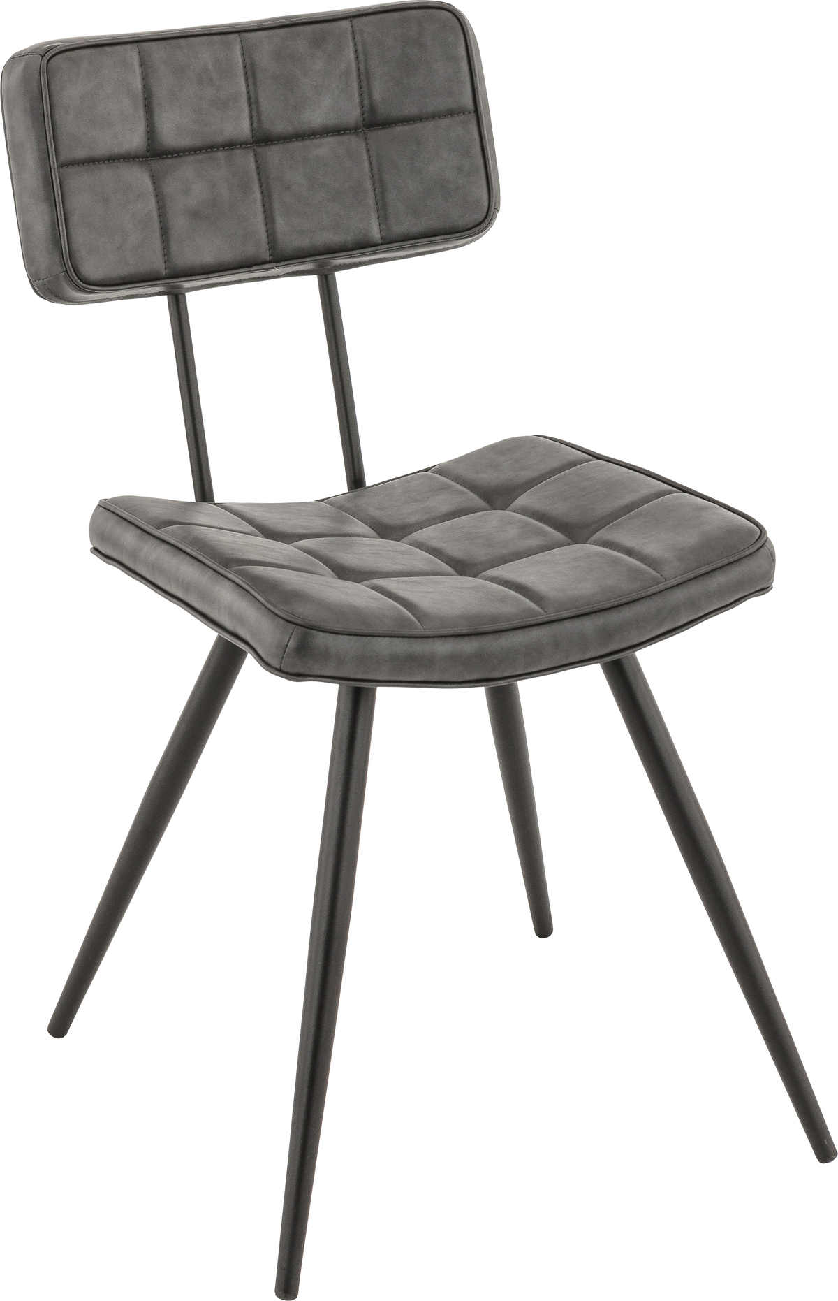 Chaise gris anthracite 42 cm Maurice