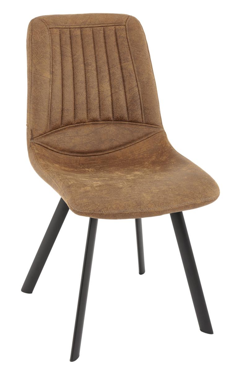 Chaise cognac 47 cm Monica