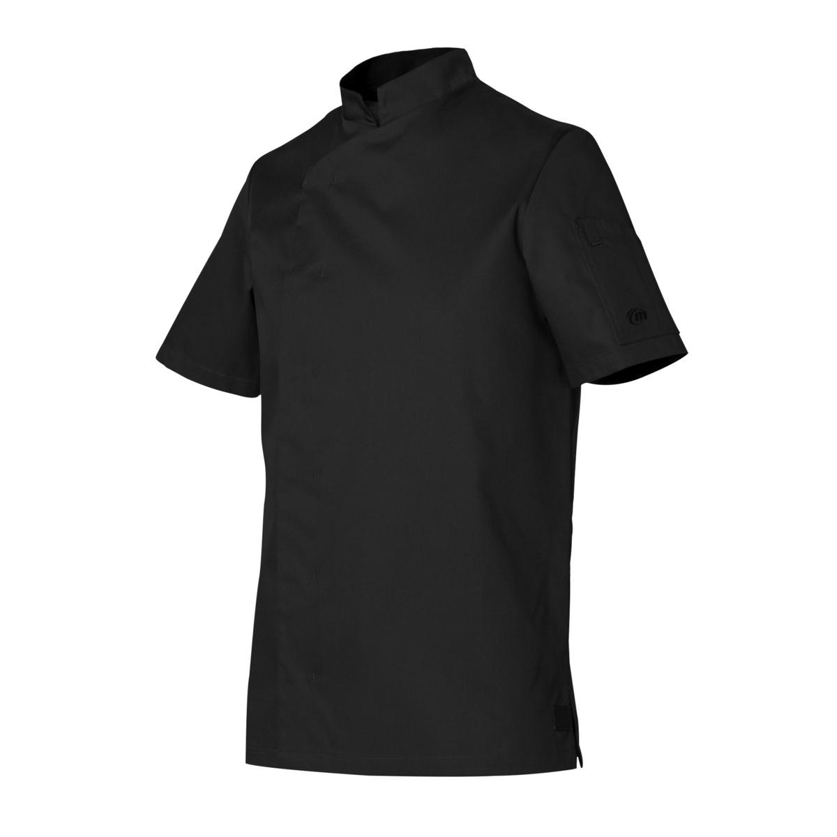 Veste de cuisine noire taille 1 Shade Molinel