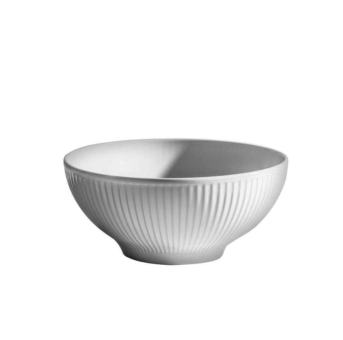 Bol rond blanc porcelaine Ø 18 cm Plisse Pillivuyt