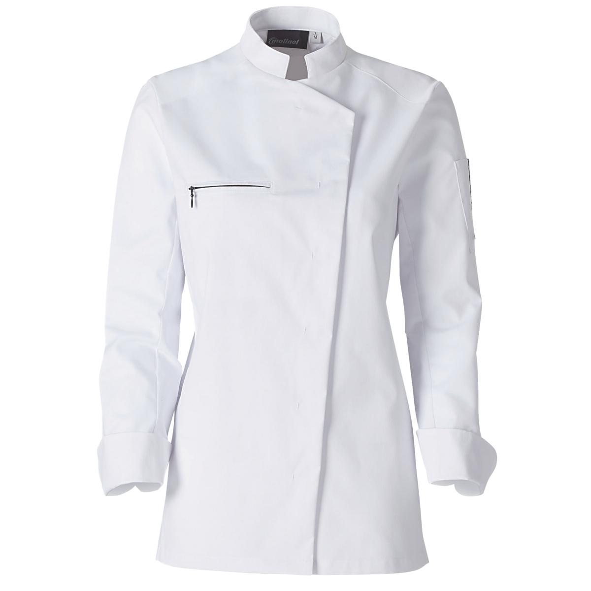 Veste femme manches longues blanc taille 1 Jaklab Molinel