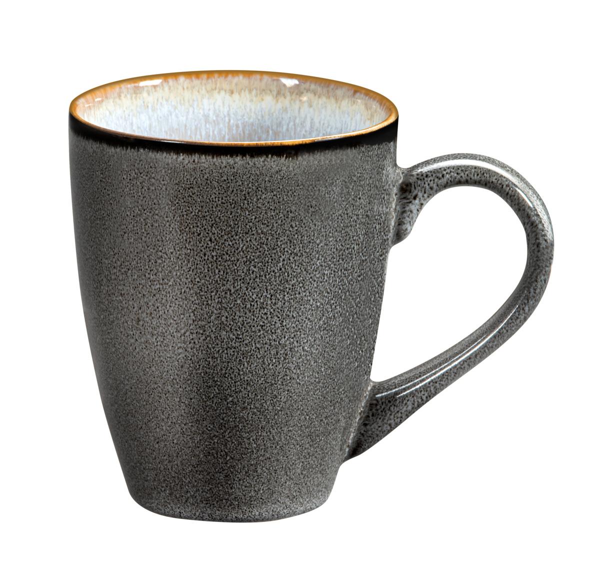 Mug rond aqua grès 30 cl Ø 9 cm Shadow Medard De Noblat