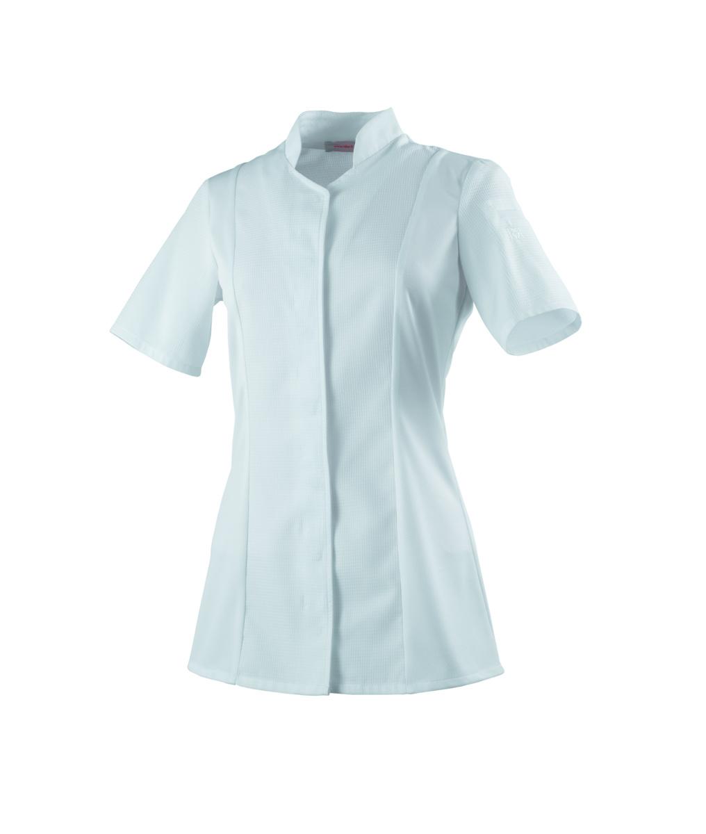 Veste femme manches courtes blanche taille 1 Abella Robur
