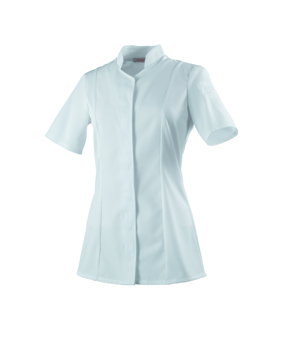 Veste femme manches courtes blanche taille 5 Abella Robur