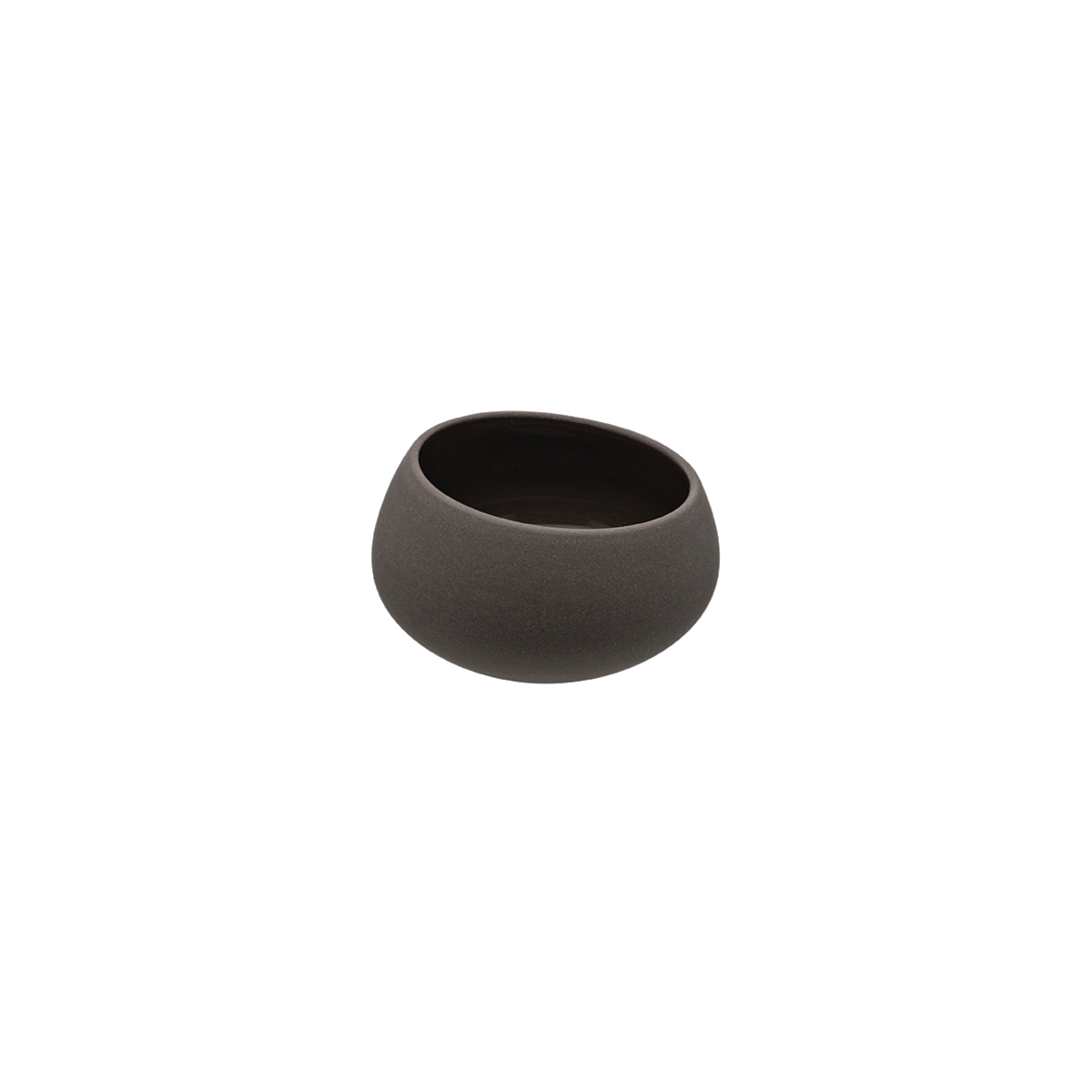 Coupelle ronde basalte grès 7 cl Ø 7,30 cm Bahia Degrenne