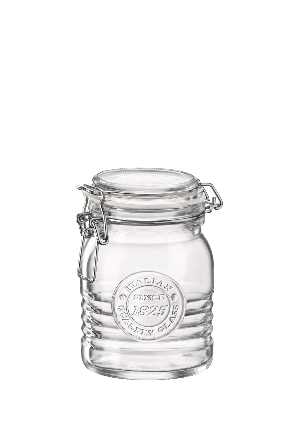 Bocal hermétique transparent verre 50 cl Ø 96,50 mm Officina 1825 Bormioli Rocco