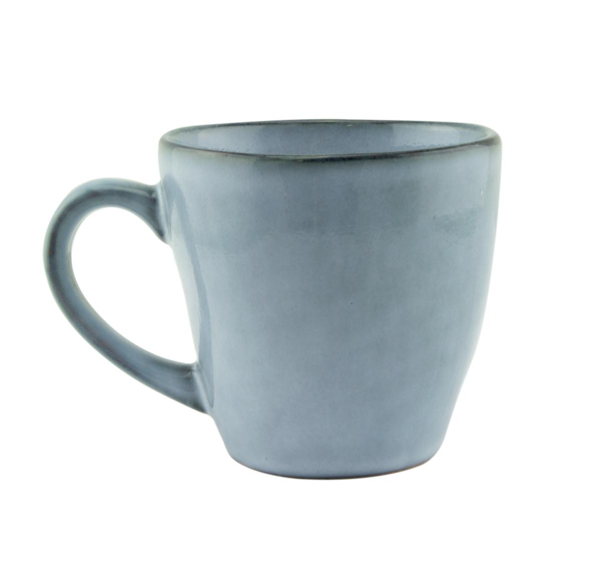 Tasse à expresso bleue grès 9 cl Ø 6,20 cm Sky Pro.mundi