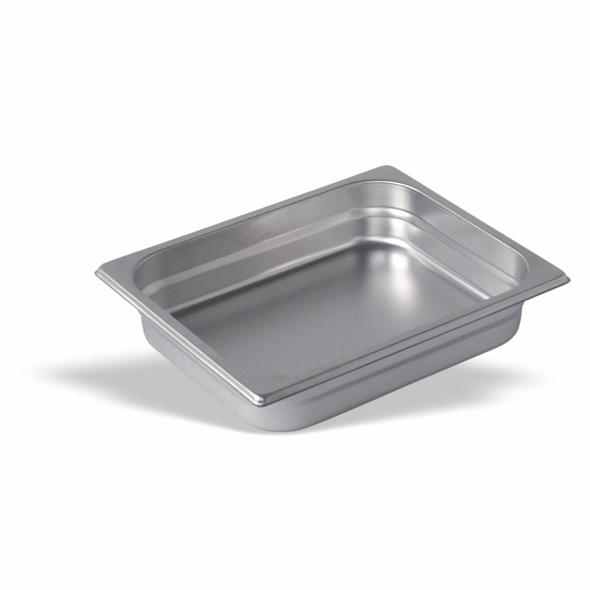 Bac inox 18/10 gn 1/2 6,50 cm 4,10 l Pujadas
