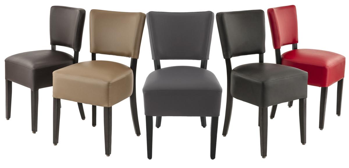 Chaise gris anthracite 45 cm Floriane