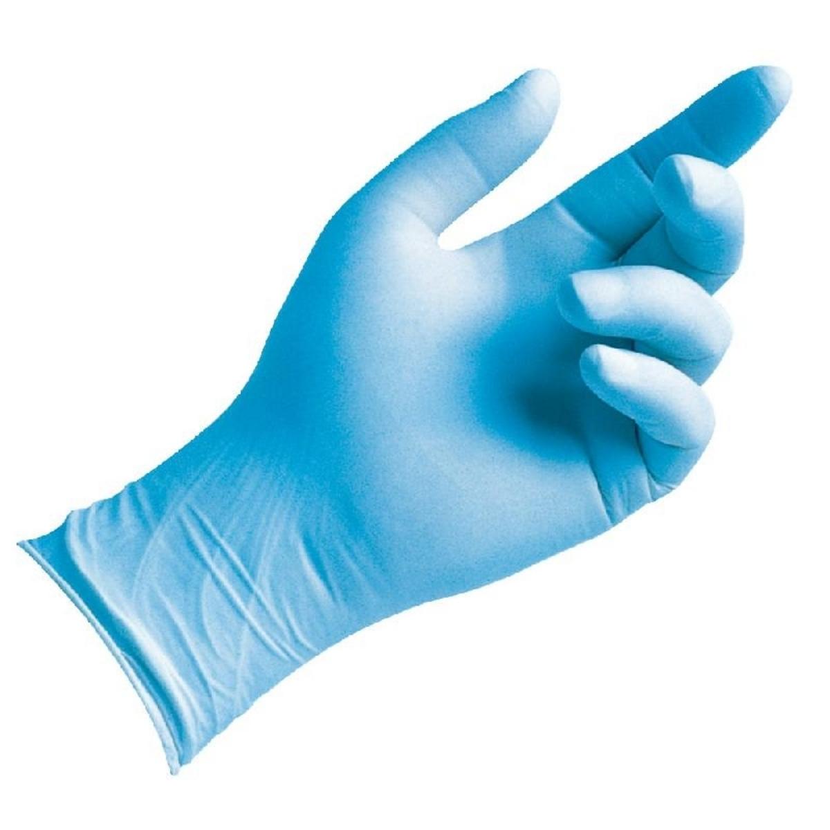 Gants nitrile bleu taille xl