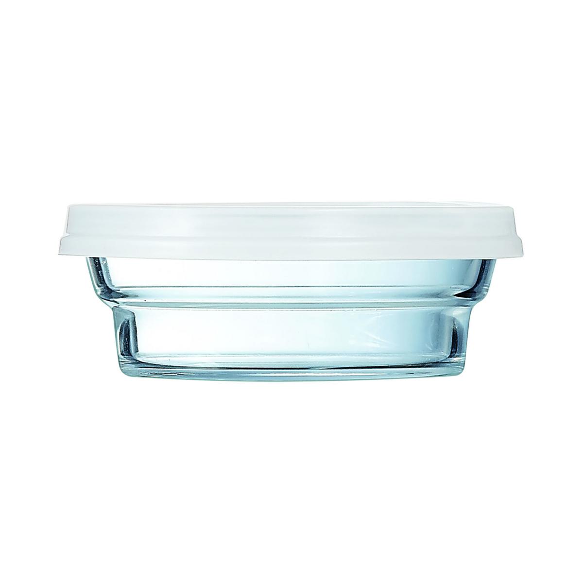 Bol avec couvercle rond transparent verre 25 cl Ø 110 mm So Urban Arcoroc