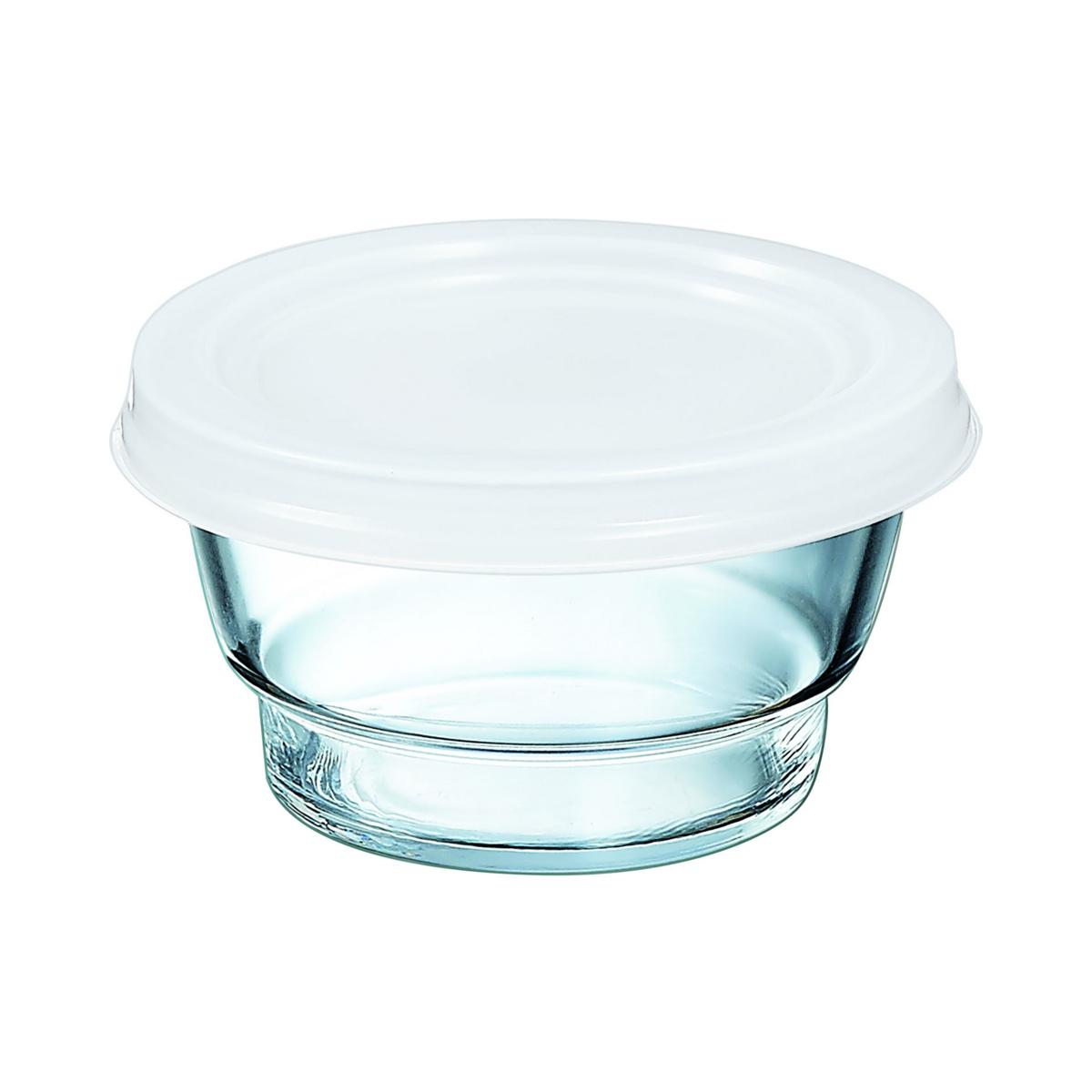 Bol avec couvercle rond transparent verre 37 cl Ø 110 mm So Urban Arcoroc