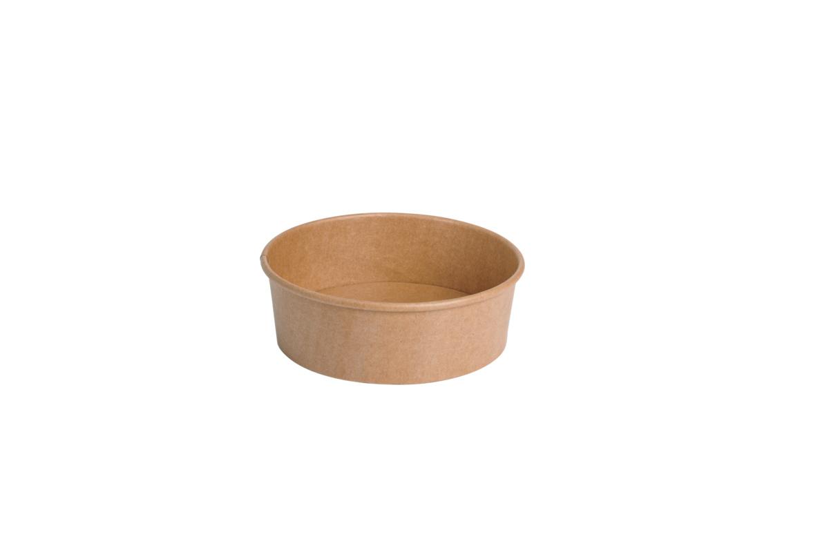 Pot marron Ø 15 cm 500 ml (50 pièces)