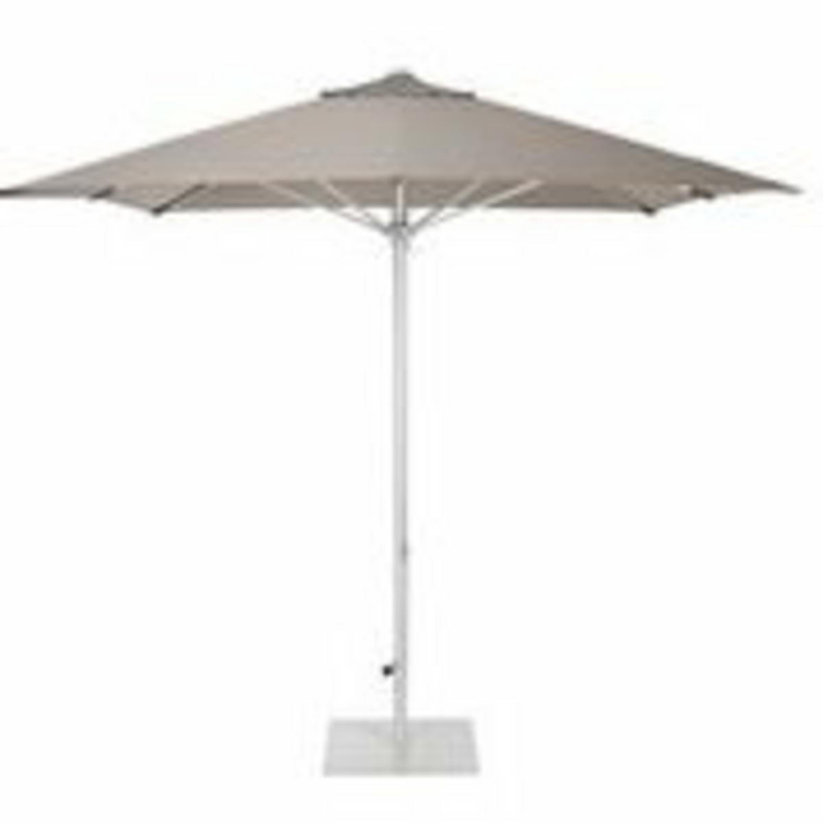 Parasol gris 300x300 mm Vigo